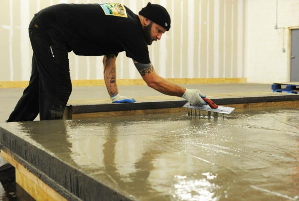 The Boardr TF Ledge Construction Concrete Icing