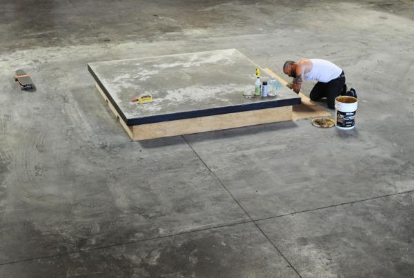 The Boardr TF Ledge Construction Justin Finishing