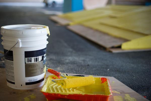 Zappos Yellow Paint