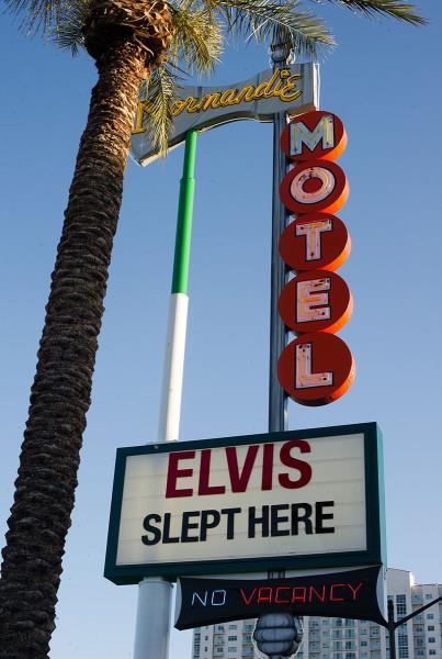 Elvis Slept Here in Vegas