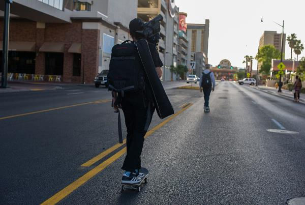 Las Vegas Streets With All Gear