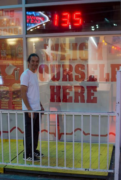 Rob Meronek in Las Vegas