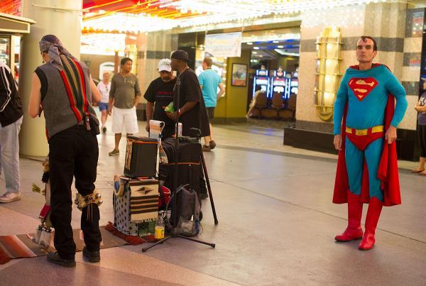 Superman Crackhead in Las Vegas