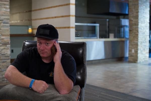 Mike Sinclair in Vegas