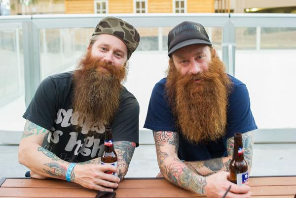 Allen Russell and Mean Gene Beards in Vegas
