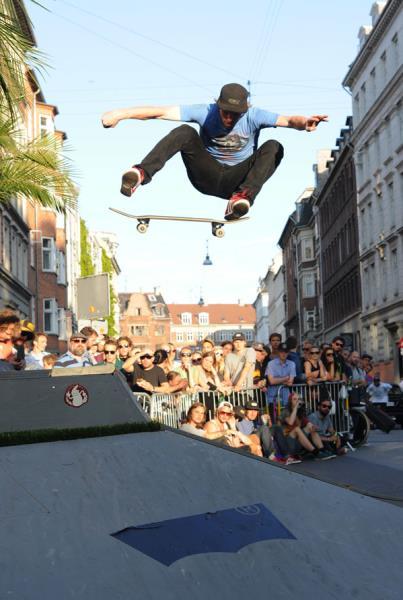 Silas Frontside Flip in Copenhagen