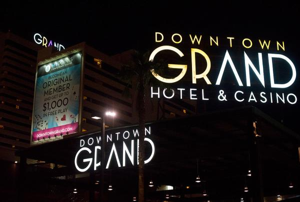 Downtown Grand Hotel in Vegas