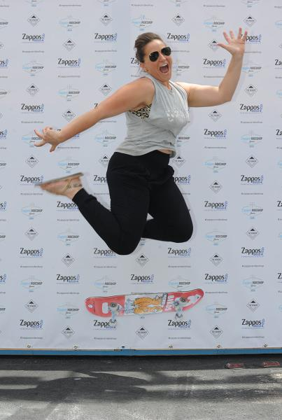 Stacey from Zappos Skateboarding