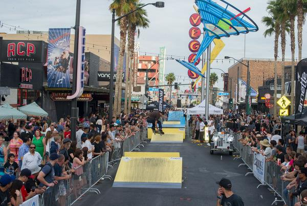 The Scene at Zappos Rideshop Series