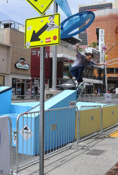 Evan Smith Wallie at Vegas