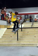 Keenan Lewis with a big smith grind. He ended up winning the 10 to 12 Division, which got him a free week at Woodward.
