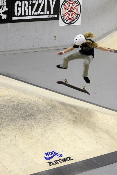Meagan Guy Backside Flip in Grind for Life Fort Lauderdale