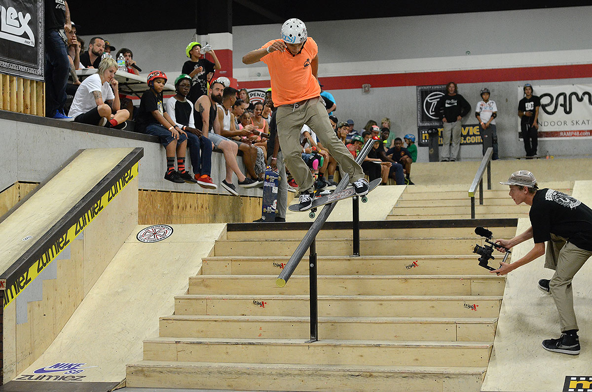 Carlos Mendoza in Grind for Life Fort Lauderdale