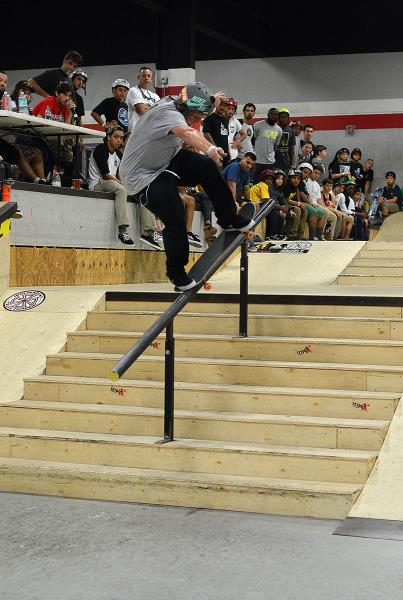 Jamie Foy in Grind for Life Fort Lauderdale