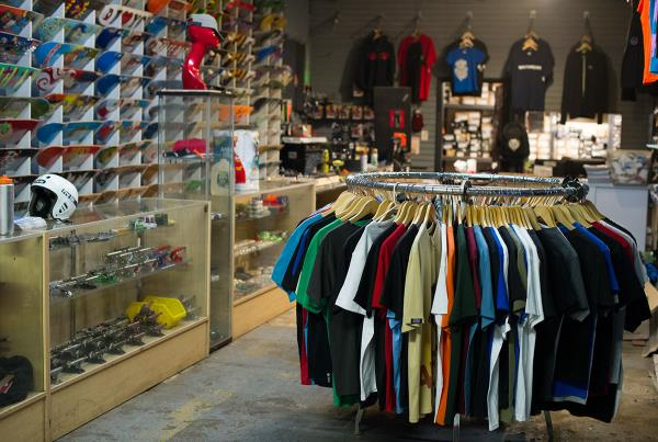 The Shop at Charm City Skatepark in Baltimore