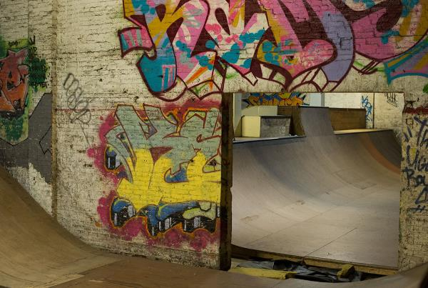 Sections at Charm City Skatepark Maryland