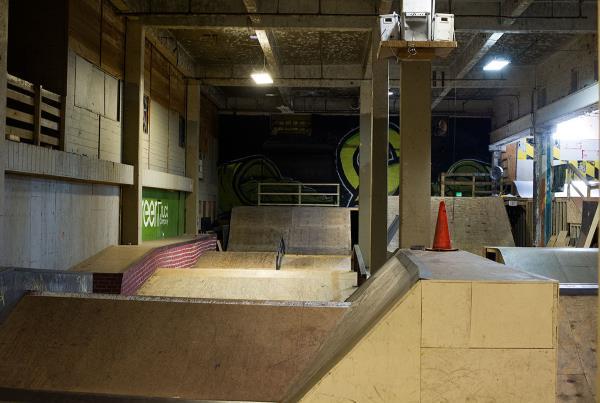 Pyramid Moguls at Charm City Skatepark Maryland