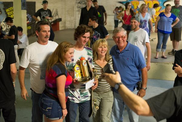 Tyler Thomas Family at Charm City Skatepark Maryland