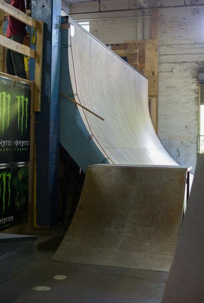 Vert Ramp at Charm City Skatepark Maryland