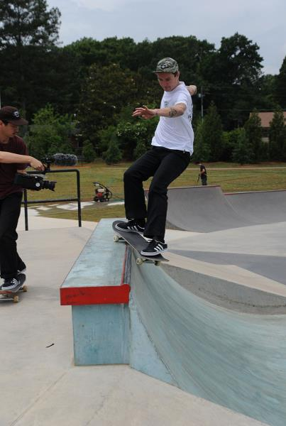 Jack Fardell Smith Grind at adidas Skate Copa Atlanta