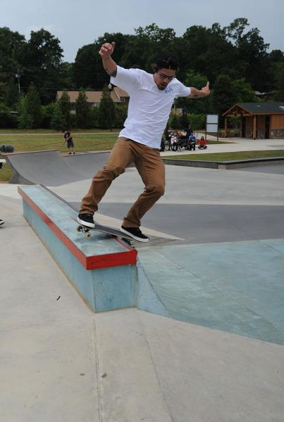 Justin Brock at adidas Skate Copa Atlanta