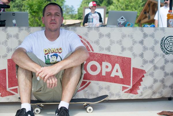 John Montesi at Skate Copa Atlanta