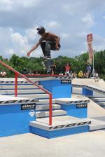 Markus Jalaber's hardflip during Best Trick.