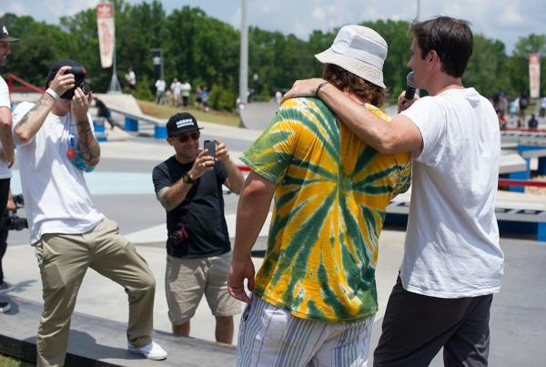 Body and Tim O'Connor at Skate Copa Atlanta