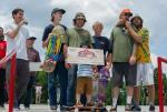 Jona and the Hazard Crew at Skate Copa Atlanta