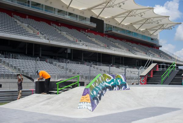 Wallie World at X Games Course