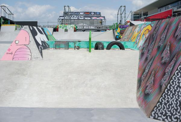 Step Up at X Games Course