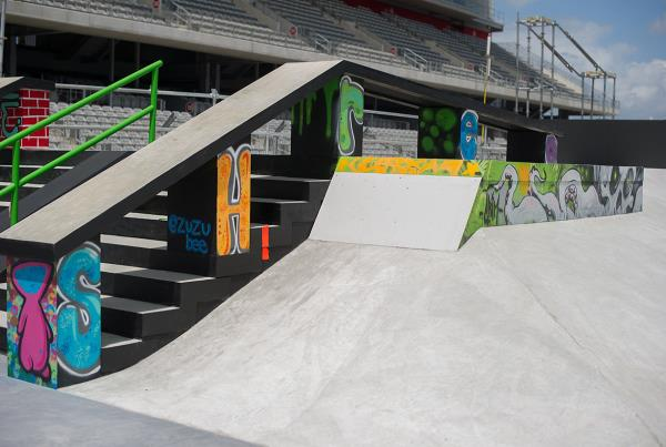 Beast Mode Section X Games Austin Course
