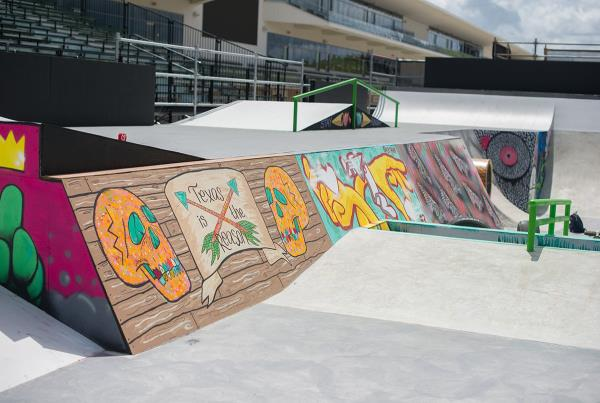 Step Up Other Side X Games Austin Course