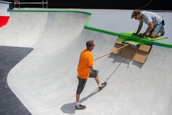 Park at X Games Austin Course