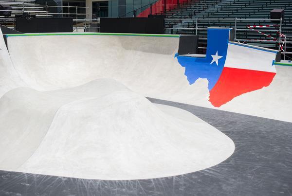 Texas Plant at X Games Austin Course