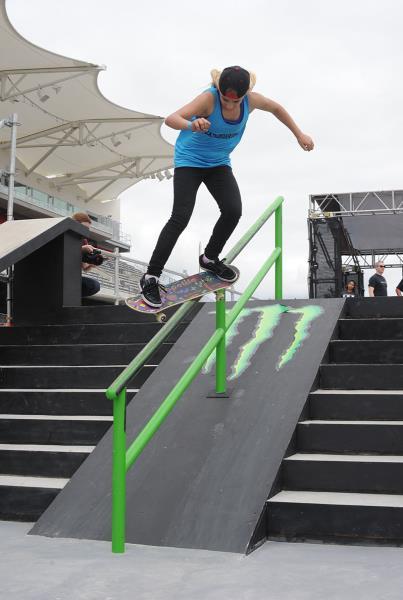 Alana Smith at X Games Austin 2014