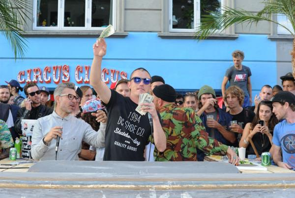 Jeff Pang Gives Out Cash in Copenhagen