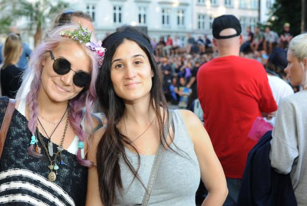 Brittany Meronek and Devin in Copenhagen