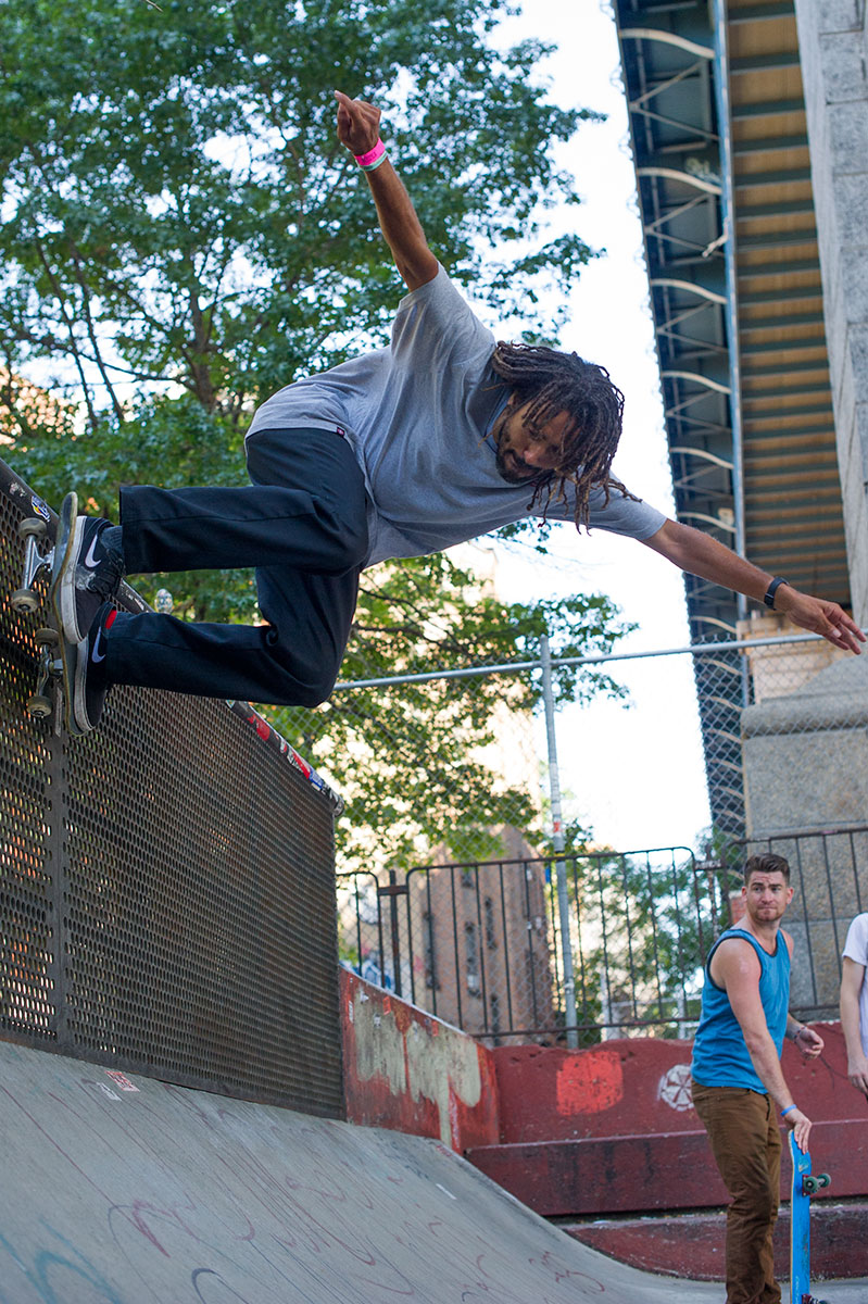 Vern Laird Wallride in NYC