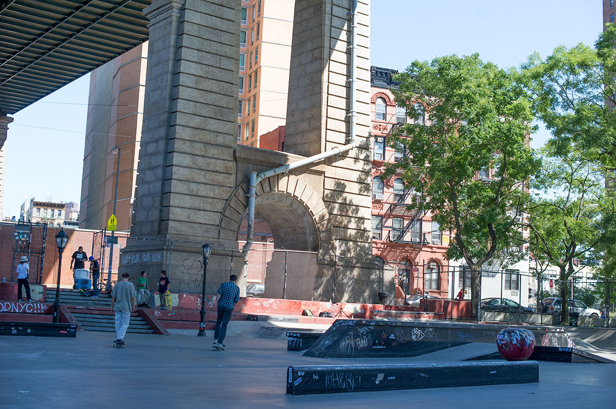 LES Skatepark in NYC
