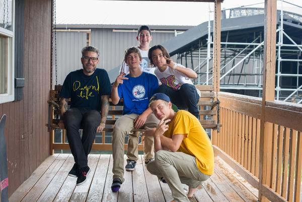 Ryan Clements at Woodward Skateboard Camp