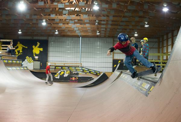 ATVs at Woodward Skateboard Camp
