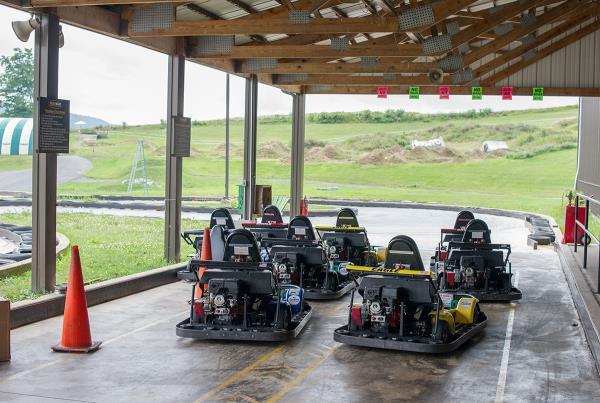 Go Carts at Woodward Skateboard Camp