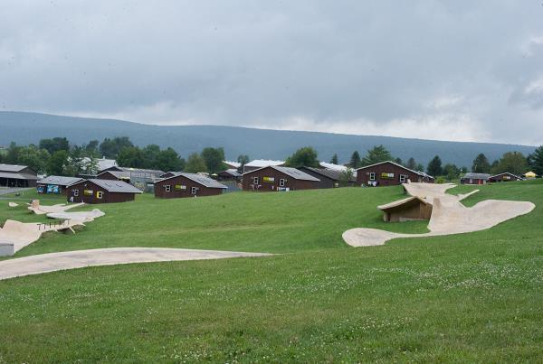 Snake Run at Woodward Skateboard Camp