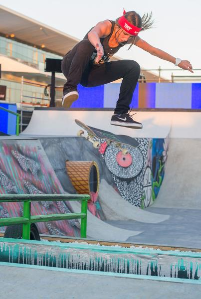Leticia Bufoni at X Games on Nike