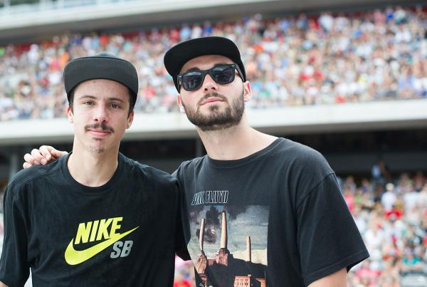 Luan and Matt at X Games