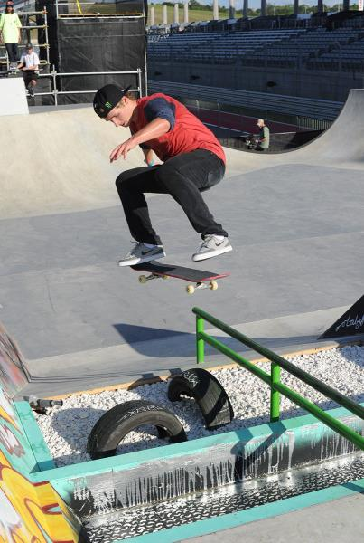 Shane ONeill Switch Flip at X Games