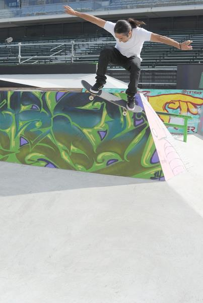 Rob Meronek Wallie at X Games