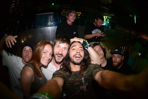 Porpe Selfie at X Games Chris Cole