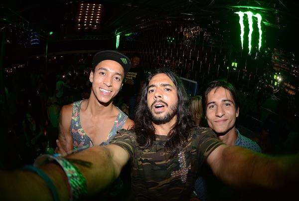 Porpe Selfie at X Games Nyjah Huston